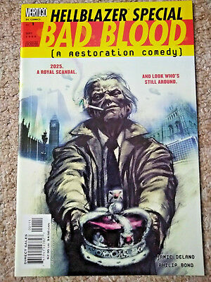 HELLBLAZER SPECIAL: BAD BLOOD # 1 (2000) DC COMICS (NM Condition)