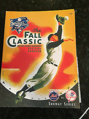 Fall Classic Official World Series Program 2000 Yankees vs Mets Subway Series
