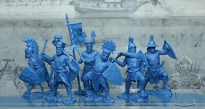 NEW!!! Collectible Plastic Toy Soldiers Publius German knights set 2 1:32 54 mm