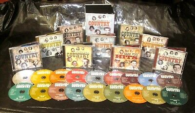 Very Nice! TIME LIFE Golden Age Of Country 18 CD SUPERSET Classic Country