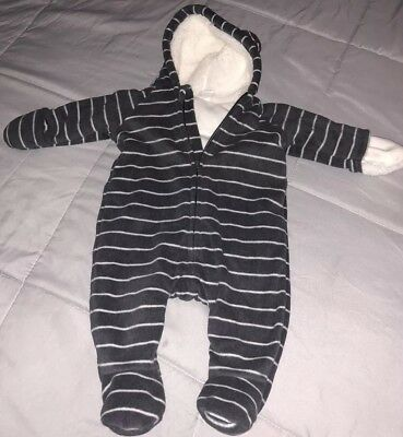 Old Navy Hooded Sherpa Sz 0/3