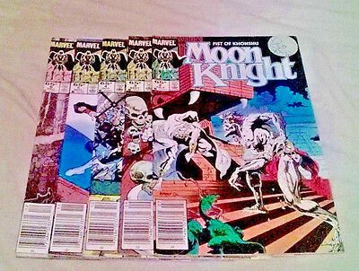 Moon Knight #2,3,4,5,6 [5 Issues]
