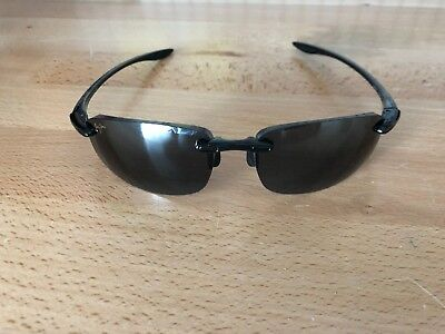 b3bb2e53e1 MAUI JIM SPORT MJ-907-02 Ho'okipa Black Frames and case only Lens ...