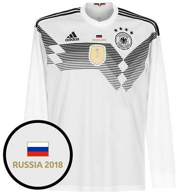 c3fa48ffc0b Germany World Cup Home L S Shirt 2018 inc FREE Russia 2018 Tournament  Transfer