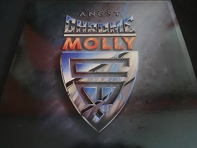 "Chrome Molly ""Angst"" Original LP. Promotional Copy. 1st edition. 1988. RARE !"
