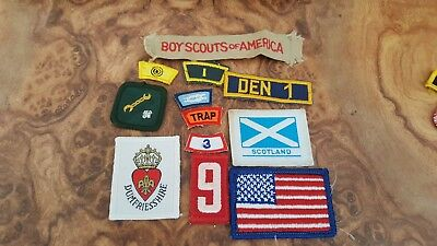 Boy Scouts Patch - nice Lot of Various Patches - BSA