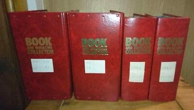 166 - 141 Book and Magazine Collector Set In Binders Sept 1989  - Dec 1995