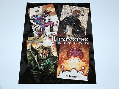Trading Cards Ultraverse Master Series Promo Sheet 1994 Skybox