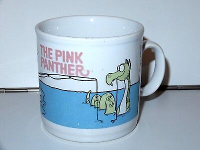 Pink Panther Coffee Cup Tea Mug 1982 United Artists Uk