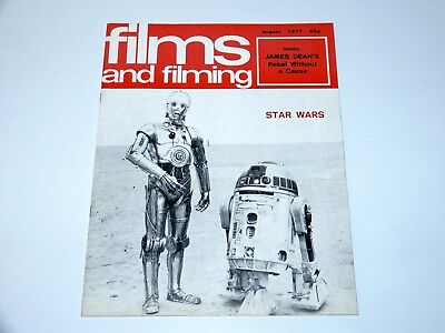 Films And Filming Magazine 1977 Star Wars Preview Teaser Special
