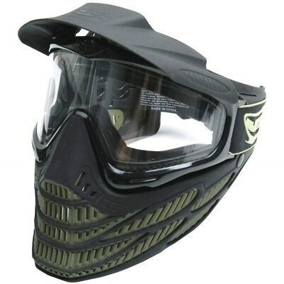 JT Paintball Maske Flex 8 Thermal, Olive Softair Paintball Airsoft