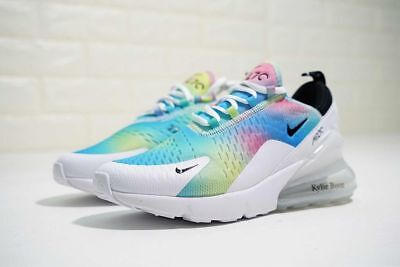 NIKE AIR MAX 270 Women's Kylie Boon Rainbow Sport Shoes size