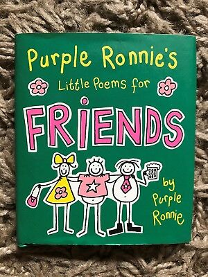 Purple Ronnies Little Poems for Friends Book - Good Condition