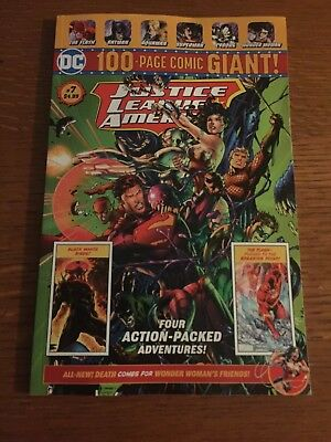 DC 100 Page Comic Giant Justice League Of America #7. Wal-Mart Exclusive.