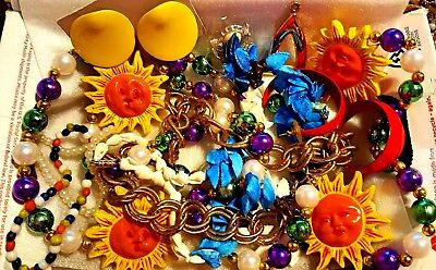 Mix Lot Of Vintage To Now Jewelry Unsearched Untested Nice Lot