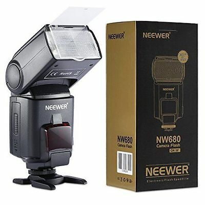 Neewer® NW680/TT680 Speedlite Flash E TTL Camera Flash *High-Speed Sync* for 5D
