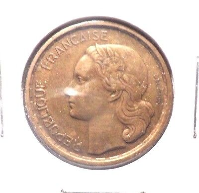 Circulated 1950 20 Franc French Coin.