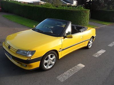 1997 Peugeot 306 2.0 Cabriolet / Convertible Phase 1 Auto - Lots of work done!