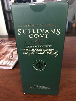 Sullivans Cove Special Cask TD0202 Australian Single Malt Whisky 700mL