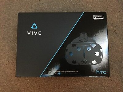 HTC Vive VR Headset And Accessories Plus Add-Ons