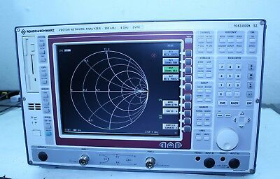 Rohde & Schwarz ZVRE Vector Network Analyzer, 10 kHz to 4 GHz READ