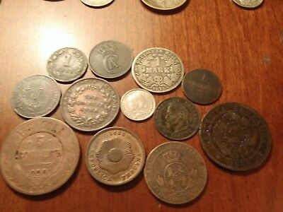 1800s With Silver 12 Great World Coins