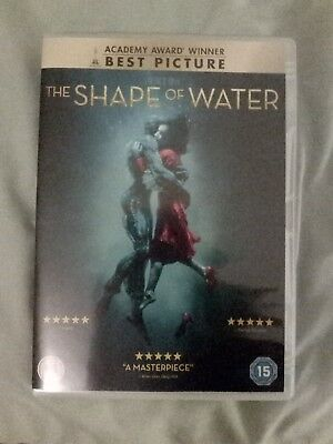 The Shape of Water DVD Guillermo del Toro (2017)