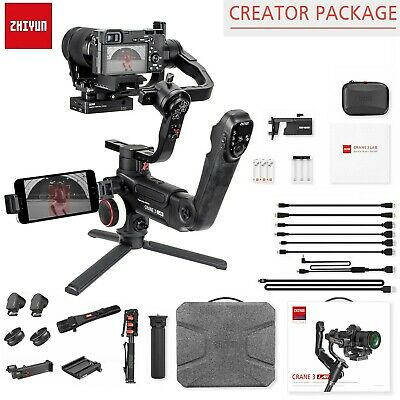 Zhiyun Crane 3 LAB Gimbal Stabilizer for Sony Nikon Panasonic Canon -Creator Kit