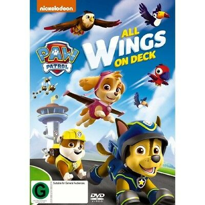 Paw Patrol: All Wings On Deck [Region 4] - DVD - New - Free Shipping.