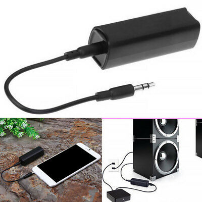 Universal Car Home Audio Ground Loop Noise Filter Isolator Stereo 3.5mm Cable