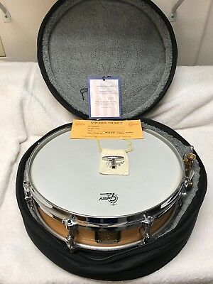 Gretsch 4X14 Custom Shop Vinyard Snare Drum in a Clear Nitrocellulose Lacquer