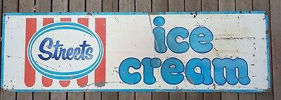 Streets Ice Cream Large Metal Tin Sign