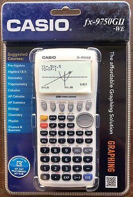 Casio FX-9750GII Graphing Calculator, Icon Based Menu**Brand New**Factory Sealed