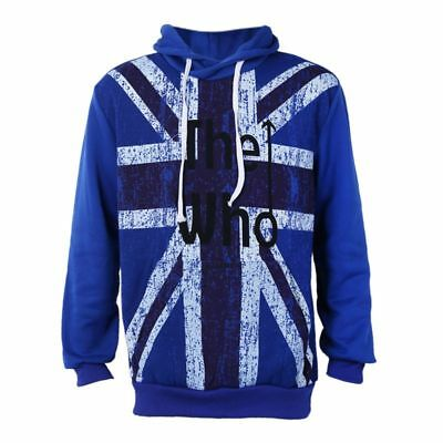 Mens Sweatshirts Printed Fleece Hoody Hoodies Sports Tops Clothing Outwear E1H2