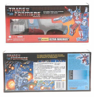 Transformers G1 Ultra Magnus Reissue Mint Gift Kids Toy New in Box Hot