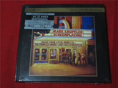 Mark Knopfler Screenplaying K2HD CD Limited to 1000 Copies New Sealed