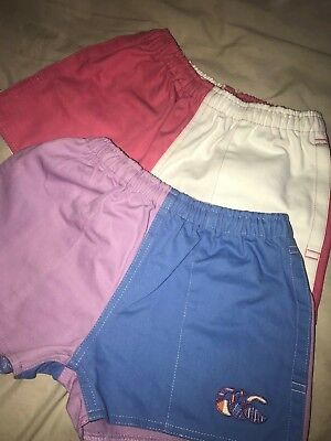 CCC Canterbury Girls Shorts x 2 Uglies Sz 8 Excellent Condition