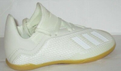 90ae40c9804 Kid s Adidas X Tango 18.3 In J Owhite cblack goldmt Indoor Soccer Shoes Size