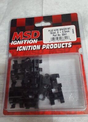MSD 8841 MSD Ignition Plug Wire Spacer Kit-Plug Wire Dividers-8-8.5mm-Set of 16