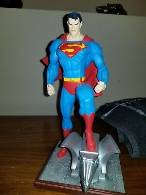 superman statue jim lee in box with coa