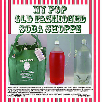 My Pop Old Fashioned Soda Shoppe Soda & Seltzer Maker
