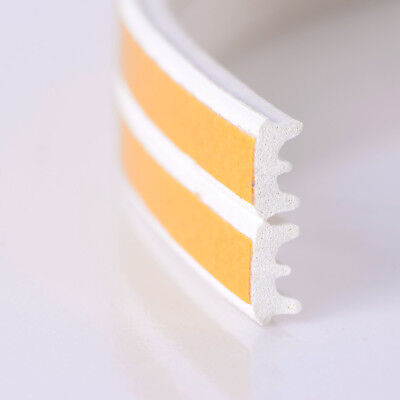 10m Foam Draught Self Adhesive Weather Door Excluder Tape Seal Strip Rubber