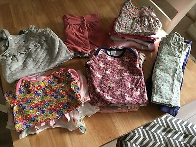 Baby Girls Clothing Bundle 3-6 Months Next, M&S, Tu, H&M Some New
