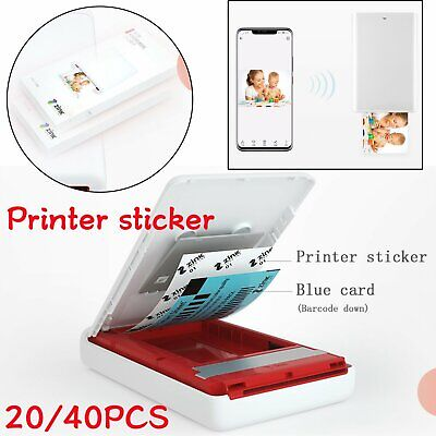 20/40Pcs Printer Sticker Papers  For Huawei Portable Zink Photo Printer Racket