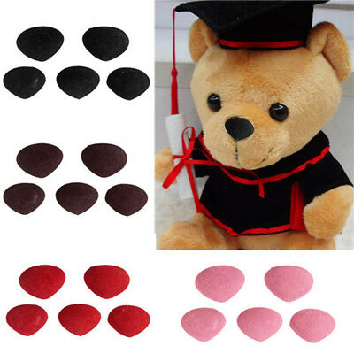 Newest 10pcs Safety Nose Plastic Triangle Nose for Teddy Bear Animal Toy Doll
