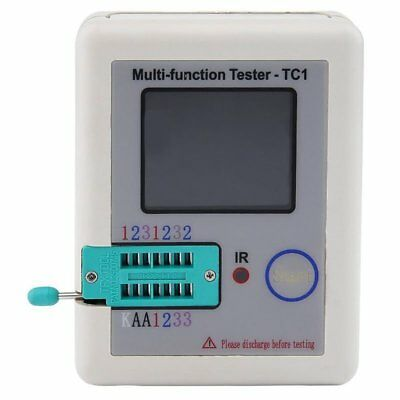 LCR-TC1 3.5inch Colorful Multifunctional TFT Backlight Transistor Tester T8P9