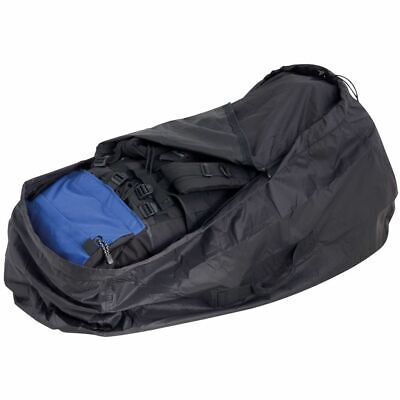 TravelSafe Rugzakhoes Maat L Zwart Hoes Regenhoes Vliegtuighoes Backpackhoes
