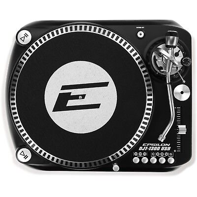Epsilon DJT-1300 USB - DJ Direct Drive Turntable DJ Vinyl Scratch