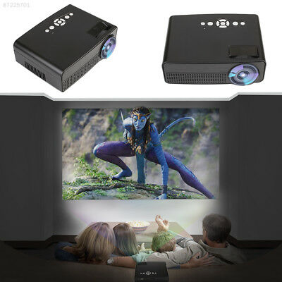 B9A5 LCD Video Projector Conference Room Office Home Cinema Indoor Theater