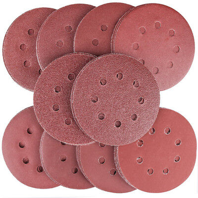 80PCS Sanding Discs Pads,8-Holes Sandpaper Assorted for Orbital Sander P4J4